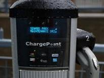 Charging Stations Await Cars